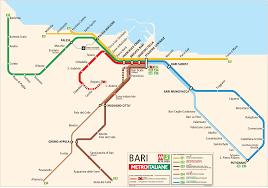 Metro Maps Bari Metro Map U2022 Mapsof Net