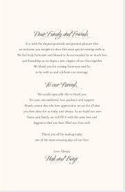 One Page Wedding Program Jewish Wedding Programs And Jewish Program Wording Templates
