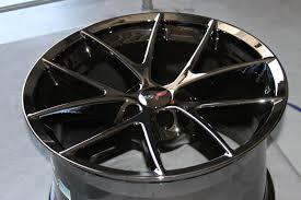 chrome corvette wheels black chrome corvette spyder wheels for c6 z06 grand sport 18x9 5