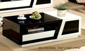 Black And White Coffee Table White Gloss Coffee Table Foter