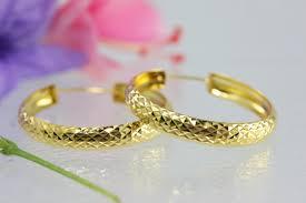 thailand earrings thai 18k gold earrings solid gold on line 15 years exporter