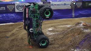 grave digger monster truck schedule watch this monster truck rip of historic minute long nose wheelie
