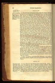 The Constitution Made No Mention Of A Presidential Cabinet The Constitution For The United States Its Sources And Its