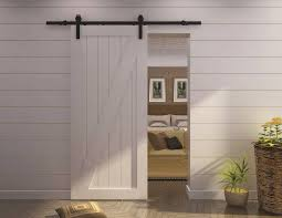 barn door in bathroom acehighwine com