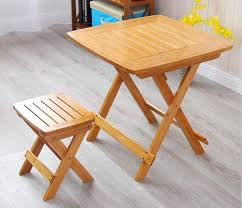 Outdoor Table Legs Aliexpress Com Buy Bamboo Furniture Dining Table Square 80cm