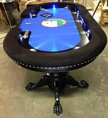 how to make a poker table bright led s custom felt automatic shuffler poker pinterest