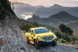 mercedes pickup truck mercedes benz reveals prices and spec for plush x class pickup