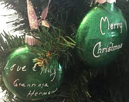 personalized remembrance ornaments remembrance ornament etsy