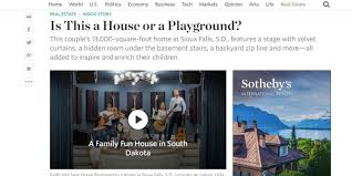 wsj see inside 13 000 square foot u0027playland u0027 home in sioux falls