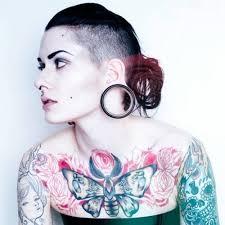 chest tattoos for women tattoos for women