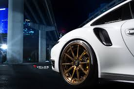 porsche turbo wheels porsche 991 turbo s on velos s10 forged wheels velos designwerks