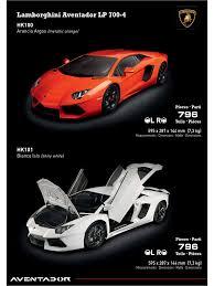 Lamborghini Aventador Dimensions - pocher