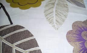 Scion Curtain Fabric Curtains In Rosehip Lemon Gull Chalk And Powder Blue