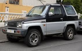 mini jeep body daihatsu rocky wikipedia