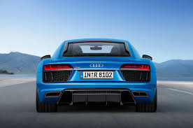 Audi R8 Blue - 2017 audi r8 v10 plus gets frickin u0027 lasers automobile magazine