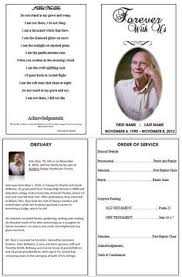 funeral programs order of service the order of service is important in a funeral program it