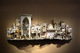 collateral damage u0027 exhibit the syrian crisis in miniature arts