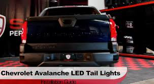 2006 silverado tail light assembly spyder auto installation 2002 2006 chevrolet avalanche led tail