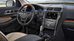 ford expedition interior 2016 2016 ford explorer platinum review test drive photo gallery