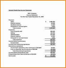 12 basic income statement template sql print statement