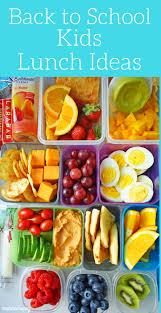 back to kids lunch ideas modern honey