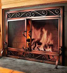 adjustable fireplace doors choosing fireplace doors screen home
