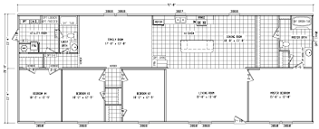 100 double wide manufactured home floor plans 20 x 60