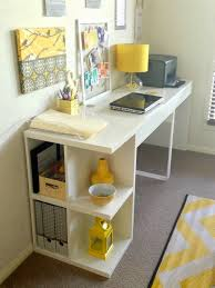 Ikea Home Office Ideas by White Ikea Desk White Ikea Floating Desk With Floor Lamp And