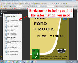 1968 ford truck shop manual ford motor company david e leblanc