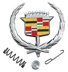 restoparts cadillac ornament emblem 1971 76 eldorado