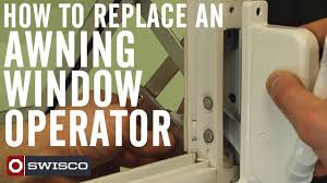 Window Awning Hardware How To Replace An Awning Window Operator 1080p Youtube