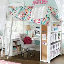 Teen Bedroom Sets - make bed mostly like this but change which side the bookshelf is