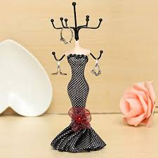 necklace holder stand images Mini mannequin earring necklace jewelry holder display stand jpg