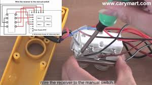 retrofitting manual operated winch to remote controlled youtube