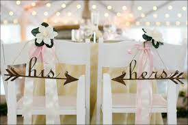his and hers wedding chairs 13 classic wedding decorations for a wedding