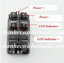 dc 12v 35a 4 pins led indicator car fog light on off foglight
