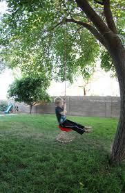 diy backyard tree swing kids pinterest trees swings and