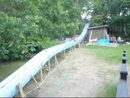 homemade waterslide 2010 edition youtube