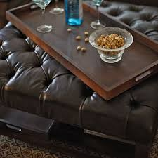 Tufted Leather Cocktail Ottoman by The 25 Best Tufted Leather Ottoman Ideas On Pinterest Large