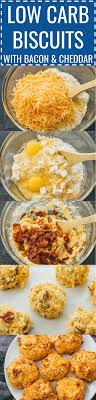 low carb biscuits with bacon and cheddar biscuits can be