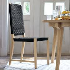 Woven Dining Room Chairs Modern Woven Shaker Chair West Elm