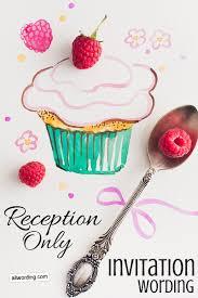 Reception Only Invitation Wording Samples 78 Bästa Bilder Om Wedding Invitation På Pinterest Mottagningar