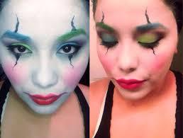 31 days of halloween clown u2013 makeup by vicktoria