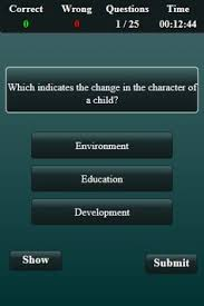 apk development child development and pedagogy quiz apk free education