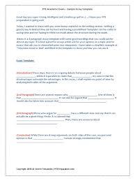 Sample Three Paragraph Essay Pte Essay Writing Template1 Steven Fernandes Essays Test