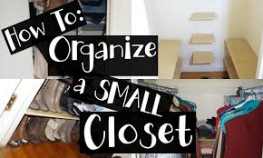 Organizing A Closet by Hacks To Organize A Small Closet Diy Nyc Apartment Youtube