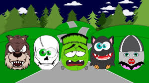 Cartoon Halloween Monsters New Kids Surprise Eggs Halloween Monsters Frankenstein Werewolf