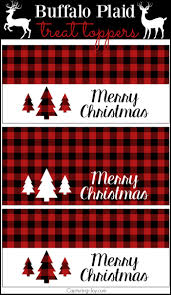 plaid christmas buffalo check plaid free printables capturing with kristen duke