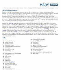 Business Analyst Resume Template Best Business Analyst Resume Exle Livecareer