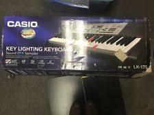casio lk 175 61 lighted key personal keyboard casio lk175 61 key portable electronic keyboard ebay